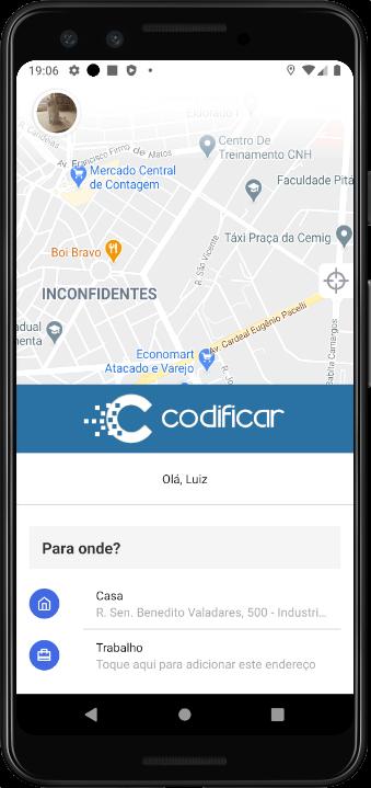 aplicativo uber clone